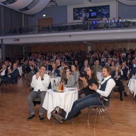 © Landratsamt Traunstein: Über 100 Sportler waren in das Kultur- und Veranstaltungszentrum k1 in Traunreut eingeladen