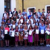 © Landratsamt Traunstein: 55 Realschülerinnen und Realschüler aus dem Landkreis Traunstein schafften einen Notendurchschnitt von 1,5 oder besser.