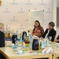 © Landratsamt Traunstein: Im Landratsamt fand der letzte KoKi-Elterntreff im Jahr 2018 statt.